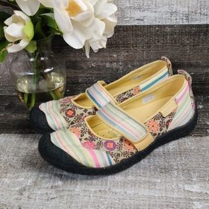 Keen Patchwork floral Mary Jane sneakers